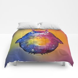 Cosmic Forest Sprite Neighbor Comforters