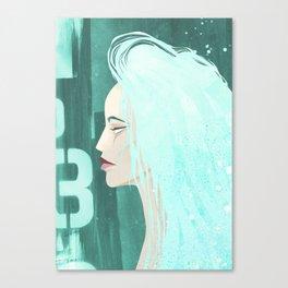 Seafoam Girl Canvas Print