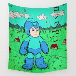 Mega Man Wall Tapestry