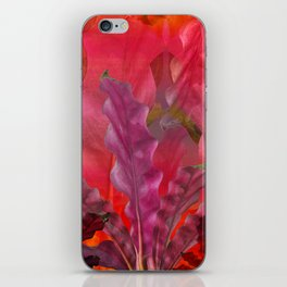 """""""Pink Scifi Tropical Jungle"""" iPhone Skin"""