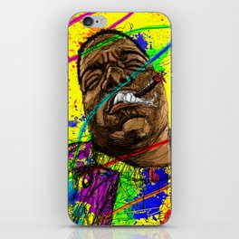Gun smoke iPhone Skin