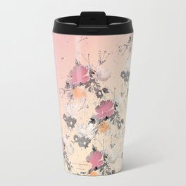 ombre floral - all Travel Mug