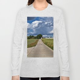 Summer Field Poetry Long Sleeve T-shirt