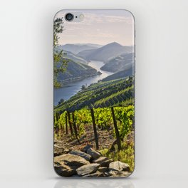 Vineyards along the Douro Valley, Portugal iPhone Skin