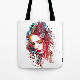 Sad Woman Tote Bag