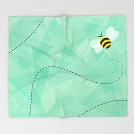 BUZZ OFF Throw Blanket
