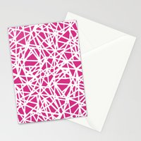 Ab Upside Down Pink Stationery Cards