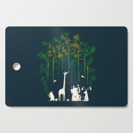 Re-paint the Forest Cutting Board