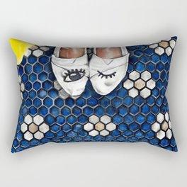 Art Beneath Our Feet Project - Grand Rapids Rectangular Pillow