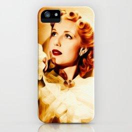 Anita Louise, Vintage Actress iPhone Case