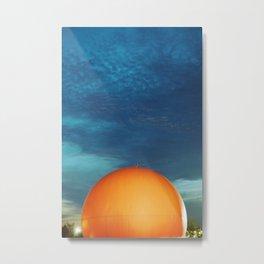 Gibeau Orange Julep Metal Print