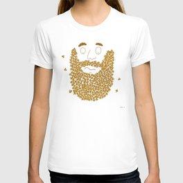 Mr Bee Beard T-shirt