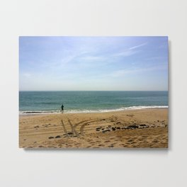 Running to the Sky Metal Print
