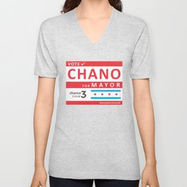 chano4mayor Unisex V-Neck