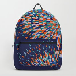 Hippie Style Firecrackers Backpack