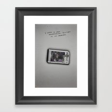 Geographical Solutions Framed Art Print