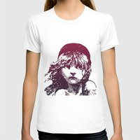 les miserables T-shirts featuring Les Miserables Girl by Pop Atelier