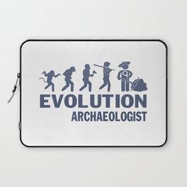Evolution - Archaeologist Laptop Sleeve