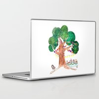 welcome Laptop & iPad Skins featuring Welcome by Sreetama Ray