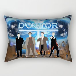 The Doctor Shine Rectangular Pillow