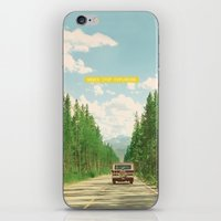 never stop exploring iPhone & iPod Skins featuring NEVER STOP EXPLORING IV by Leslee Mitchell