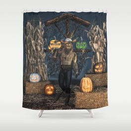 Scarecrow Reaper Shower Curtain