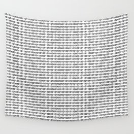 Binary Code Wall Tapestry