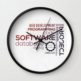 Programmer: Typography Programming - Color Wall Clock
