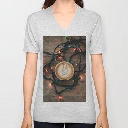 Christmas Latte Unisex V-Neck