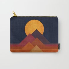 Full moon and pyramid Carry-All Pouch