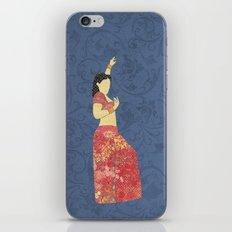Belly dancer 5 iPhone & iPod Skin