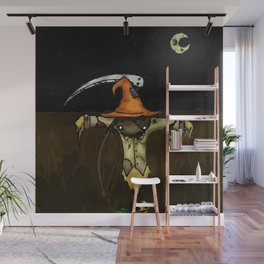 Scarecrow Tattoo Wall Mural