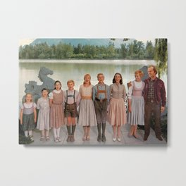 Jack Torrance in The Sound of Music Metal Print
