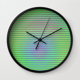 Play with stripes  3 Wall Clock