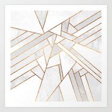 White Night Art Print