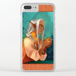 Gia the Midwife Clear iPhone Case