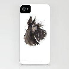 Scottish Terrier profile Slim Case iPhone (4, 4s)