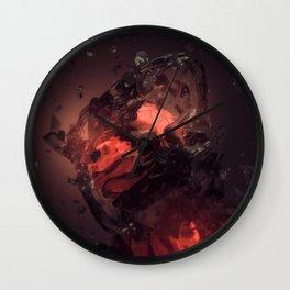 Embers Wall Clock