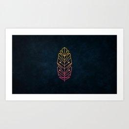 Minimalist Feather Art Print