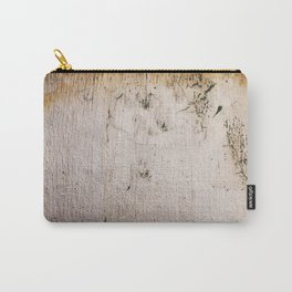 Distressed Silver Gold Leaf Carry-All Pouch
