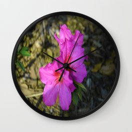Purply Wall Clock