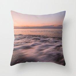 Shades on the beach Throw Pillow