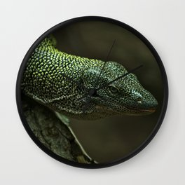 Giant Monitor Lizards Wall Clock