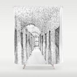 NYC Apartment Hallway Shower Curtain