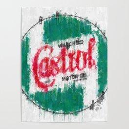 Castrol Logo Poster