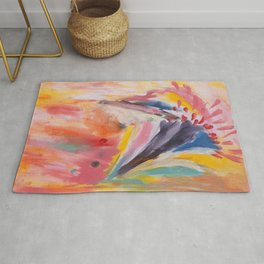 Kaleidoscope-beautiful form of life, joy, hope and full of surprises Rug