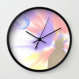 Reflecting On A Dream Wall Clock