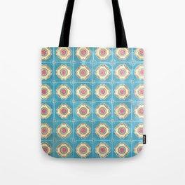 Floor Series: Peranakan Tiles 13 Tote Bag