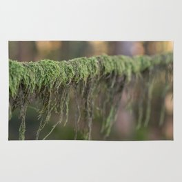 Moss on a branch Rug