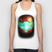 metroid Tank Tops featuring Metroid by Joe Roberts